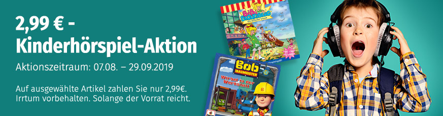 2,99€ Kinderhörspielaktion